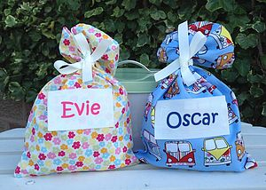 Personalised Children's Party Gift Bag - wedding day activities
