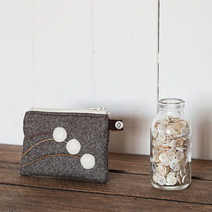 Little White Berries Purse