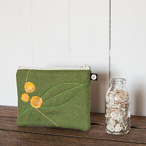 Yellow Berries Purse