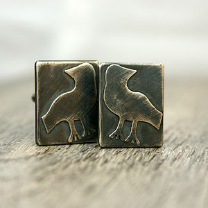 Odin's Ravens Cufflinks - men's accessories