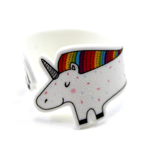 Unicorn Wraparound Ring - rings