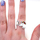 Unicorn Wraparound Ring