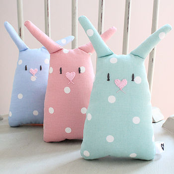 Personalised Baby Bunny Toy