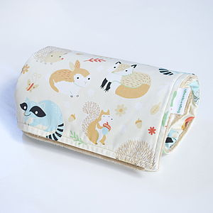 Baby Blanket 'Forest Life' - blankets, comforters & throws