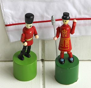 Push Up Beefeater - toys & games
