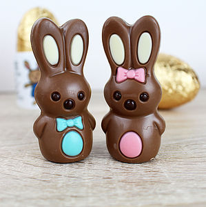 Chocolate Easter Bunny - children's easter