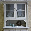 Continental Glass Fronted Dresser