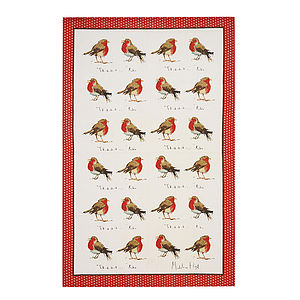 Mf Robins Linen Tea Towel