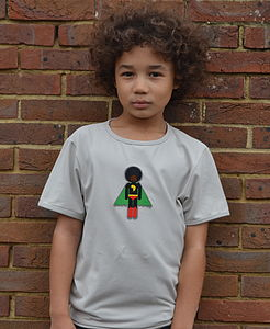 Organic Cotton Short Sleeved T Shirt For Boys