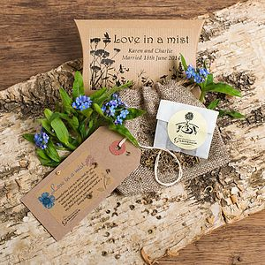 Love In A Mist Seeds Gift - best wedding gifts