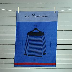 Mediterranean Tea Towel