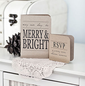 Winter Wedding Invitation - winter wedding ideas