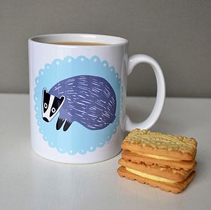 Barry The Badger Mug