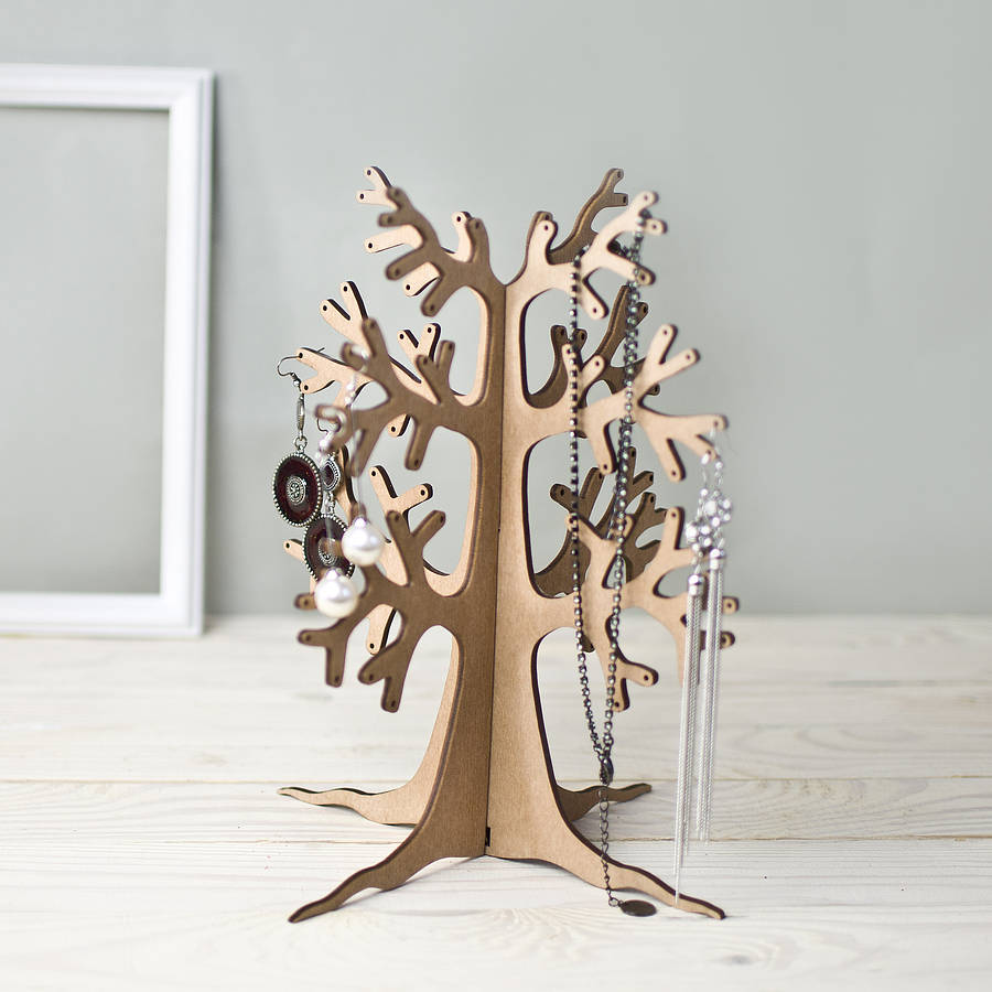 eco tree jewellery stand by wooden toy gallery