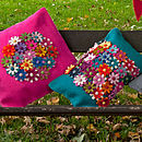 Handmade Felt Cushion Multiple Design