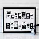 Personalised Playlist Mp3 Print