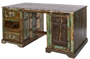 Kavi Reclaimed Wood Desk - view all sale items