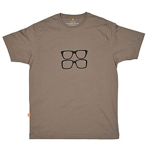 Two Ronnies Glasses T Shirt - for young men