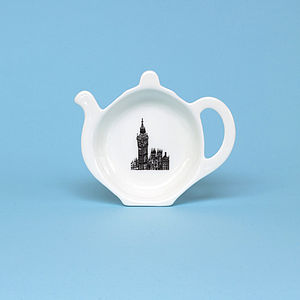 London Big Ben Tea Bag Tidy - crockery & chinaware