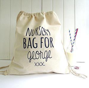 Personalised 'Knitti Bag For' Storage Bag - storage
