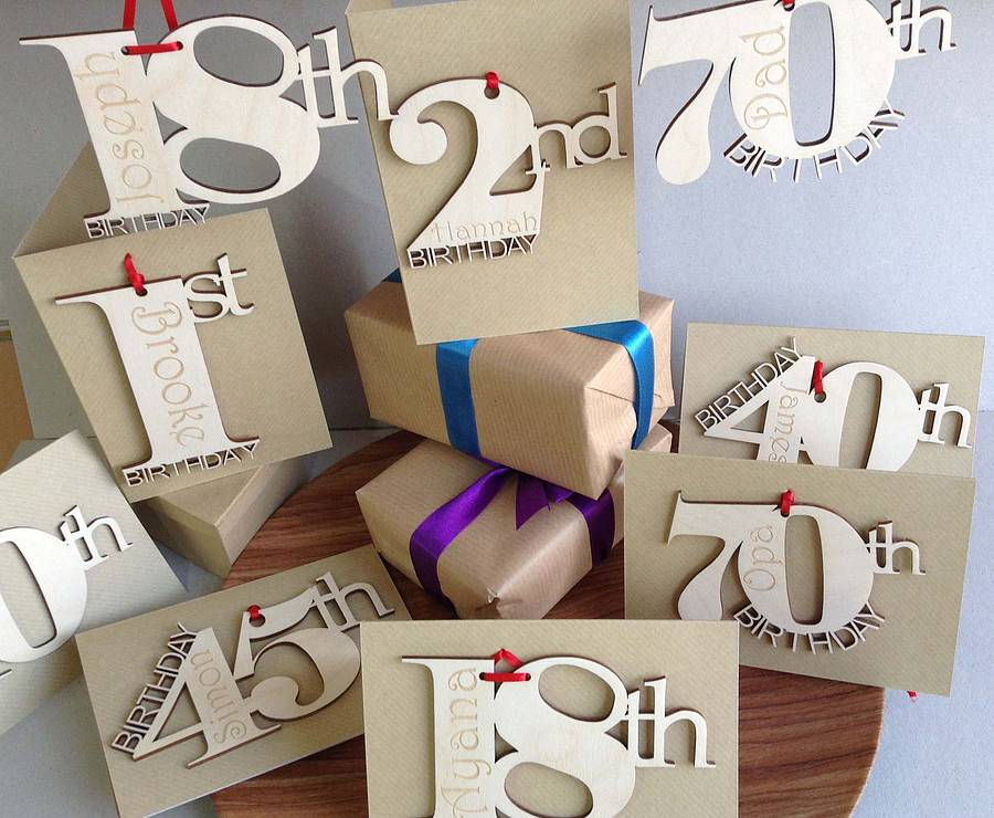 Personalised Birthday Cards By Hickory Dickory Designs