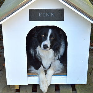 Engraved Slate Kennel Sign - stylish pet accessories for the home