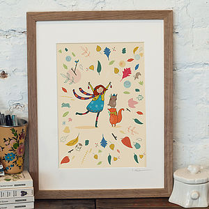 'Love Autumn' Print