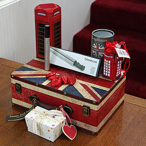 'Call Me' Telephone Box Union Case - teas, coffees & infusions
