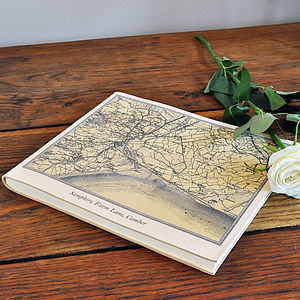 Personalised Map Guest Book