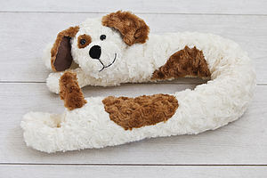 Dog Draught Excluder - cushions
