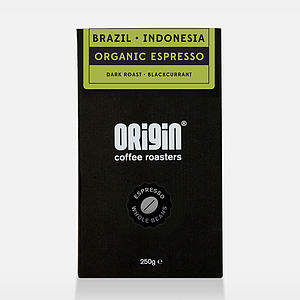 Organic Espresso Beans - food & drink gifts