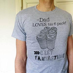 'Le Six Pack' T Shirt