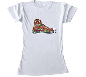 Colour In Teenage T Shirt Boot - clothing