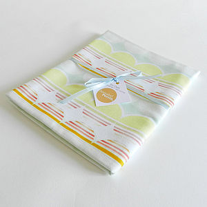 Sunset Sunrise Cotton Tea Towel