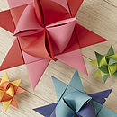 Origami Paper Star Decoration