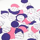 Personalised Party Table Confetti