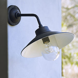 Bora Outdoor Light In Matt Black - lights & lanterns