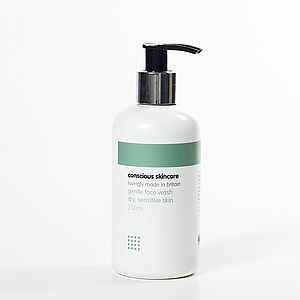 Gentle Face Wash - men's grooming & toiletries