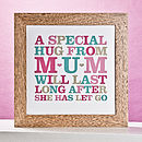 'A Hug From Mum' Print