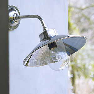 Bora Outdoor Light In Tarnished Silver - update your garden