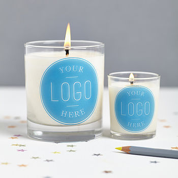 Personalised Scented Company Candle