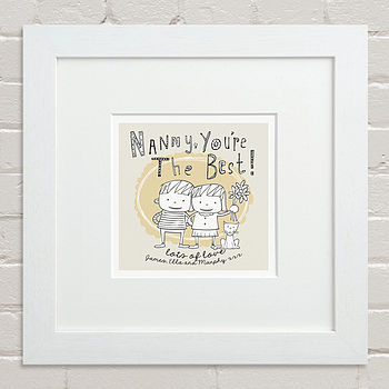 Children's Personalised Grandparent Print