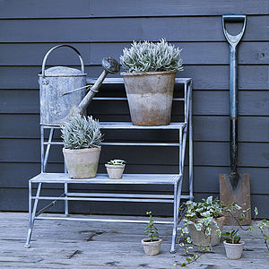 Burley Tiered Pot Stand - shelves