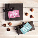 World's Best Mum Personalised Chocolates