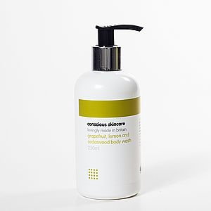Grapefruit Lemon And Cedarwood Body Wash - men's grooming & toiletries