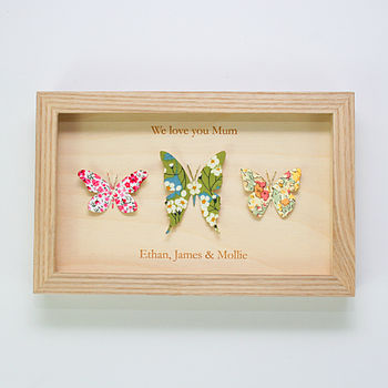 Personalised Butterfly Artwork