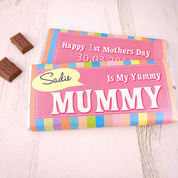 Mother's Day Personalised Chocolate Bar