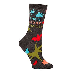 'I Have Mood Swings' Socks