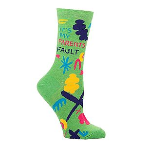'It's My Parents' Fault' Socks