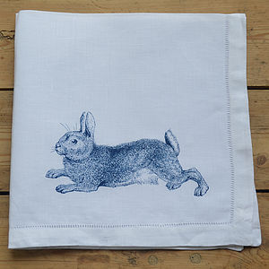 Rabbit Napkin
